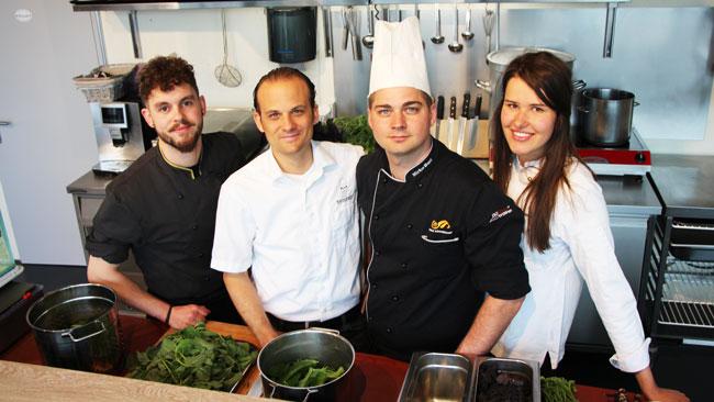 Nachhaltig produziertes Essen durch top-motivierte Köche